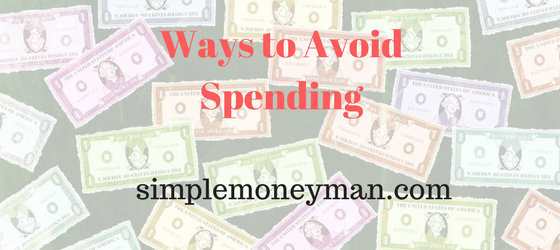 Ways to Avoid Spending simple money man