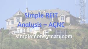 Simple REIT Analysis – AGNC