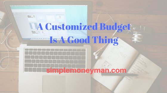 custom budget simple money man
