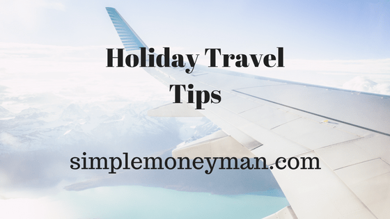 Holiday Travel Tips simple money man