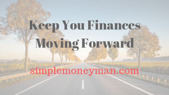 Keep You Finances Moving Forward simple money man