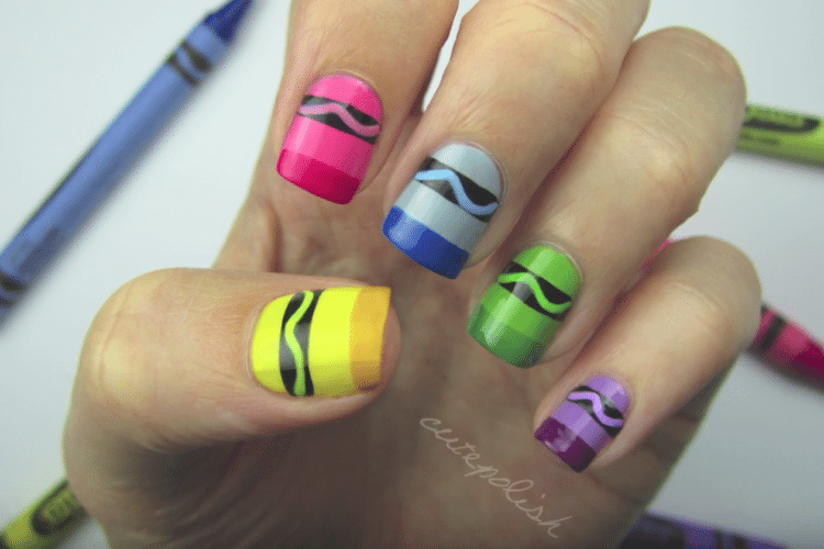 11 Awesome Back To School Nail Art Designs