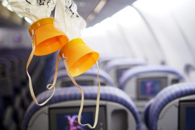 Image result for oxygen mask airplane