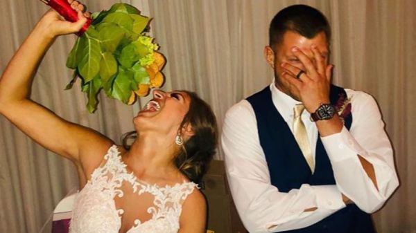 This Maid Of Honor Gave The Most Epic Chicken Nugget-Themed Wedding Toast