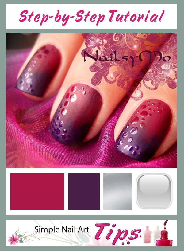 Textured Nail Polish Art Tutorial