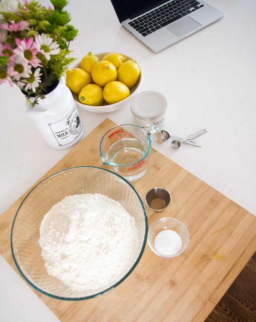 homemade artisan bread ingredients