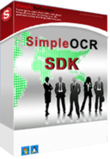 SimpleSoftware SimpleOCR SDK