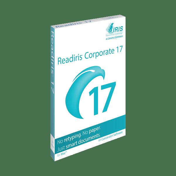 ReadIRIS 17 Corp for Mac