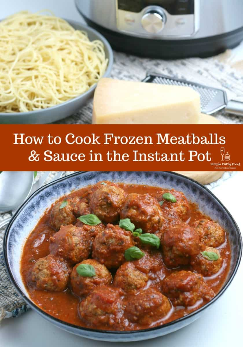 SIMPLE Instant Pot Meatballs