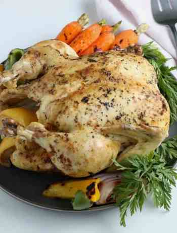 SIMPLE Instant Pot Roasted Chicken