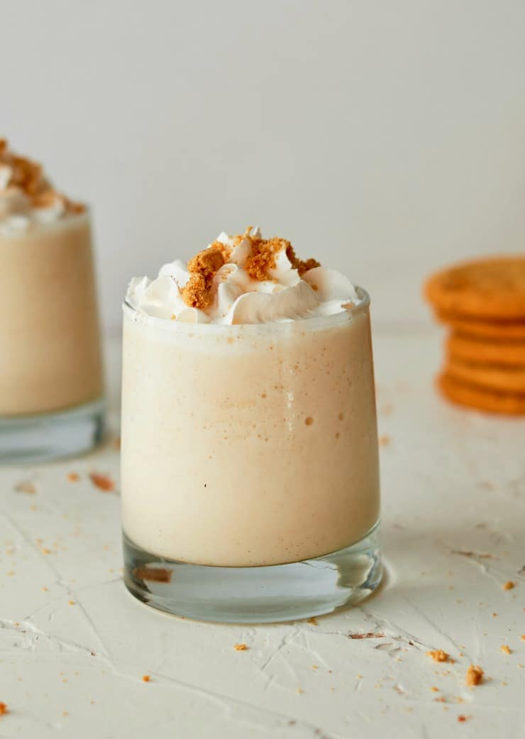 SIMPLE Pumpkin Spice and Ginger Shake