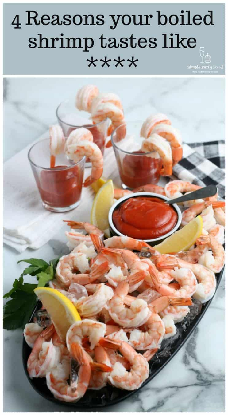 The secrets to making the best shrimp cocktail and what you're doing wrong #appetizers #simplepartyfood