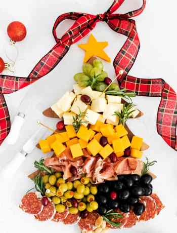 How to make a SIMPLE-Christmas-Tree-Cheese-Board