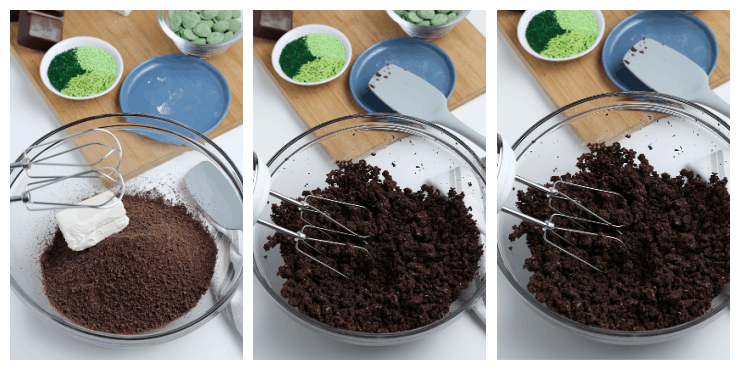 SIMPLE mint girl scout cookie truffles