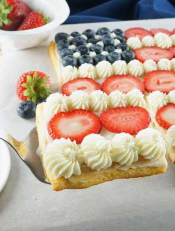 4th-of-July-Fruit-Pizza-with-blueberries-and-strawberries-on-PIllsburty-cresent-rolls-and-cream-cheese-frosting