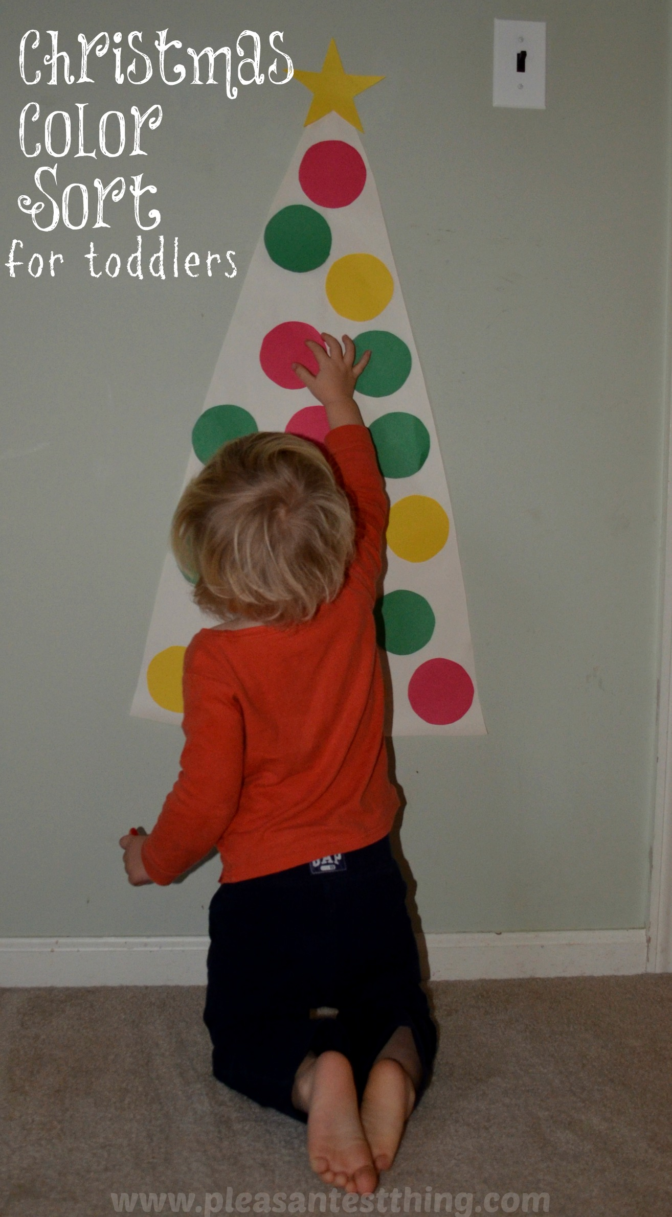 Christmas Colors Toddler Game
