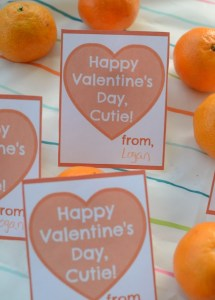 Printable Cuties Valentines