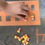 Candy Corn Ten Frame