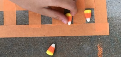 Add candy corn to addition and subtraction practice with candy corn ten frames!
