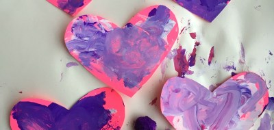 Fun idea for Valentine's Day for toddlers!