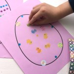 Simple Easter Craft – Sticker Easter Egg