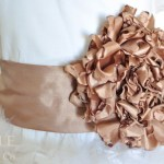 Chrysanthemum Flower Sash Tutorial
