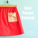 Bow Pocket Tutorial.