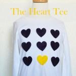 Lookbook: The Heart Tee.