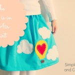 The Love is in the Air Skirt (with Printable Template)