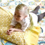 A Five Minute Pillowcase How To and A Riley Blake Fabric Giveaway!