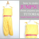 Spring Lookbook: 80's Jumper Restyled (Tutorial)