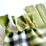 A No-Sew Polar Fleece Blanket Tutorial