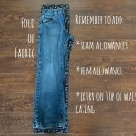 Make Pajama Pants from Jeans