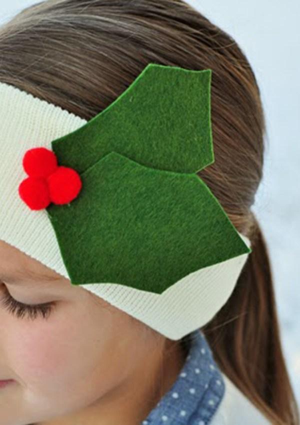 Easy Holiday Ear Warmers