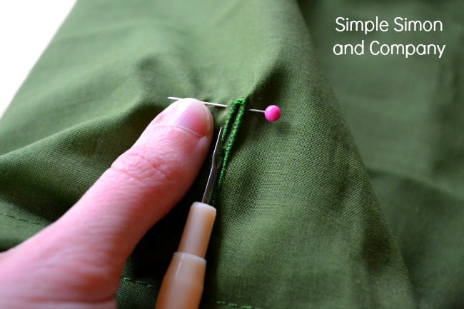 Button Hole Tip