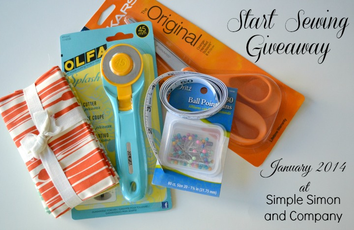 Start Sewing Giveaway