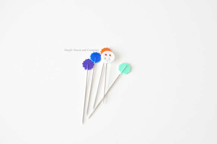simple sewing tools--pins
