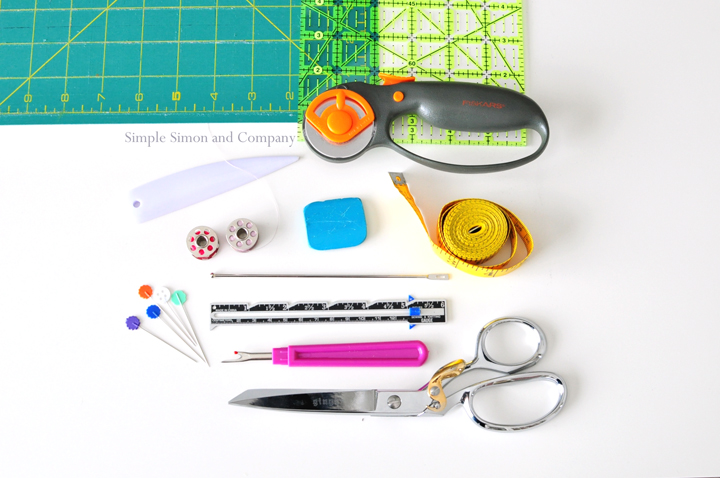 simple sewing tools real