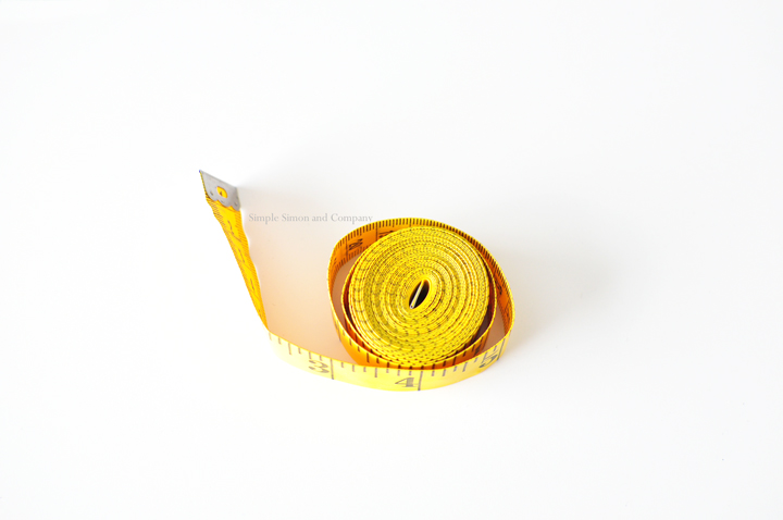 simple sewing tools--tape measurereal
