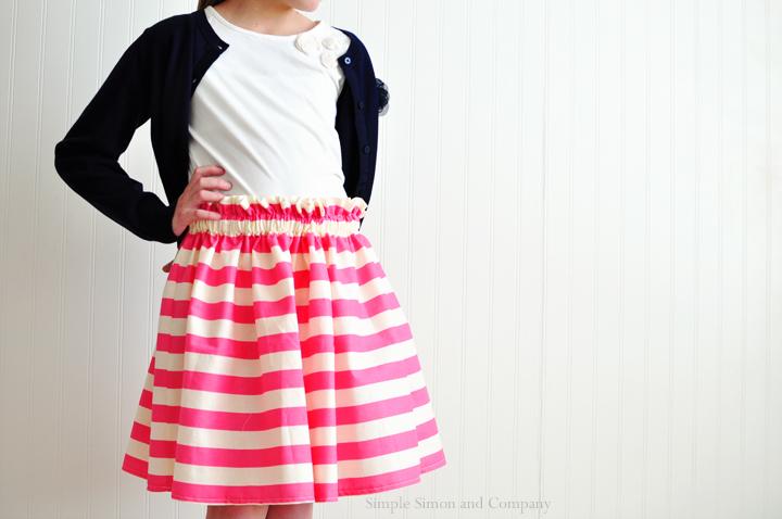 a valentine skirt