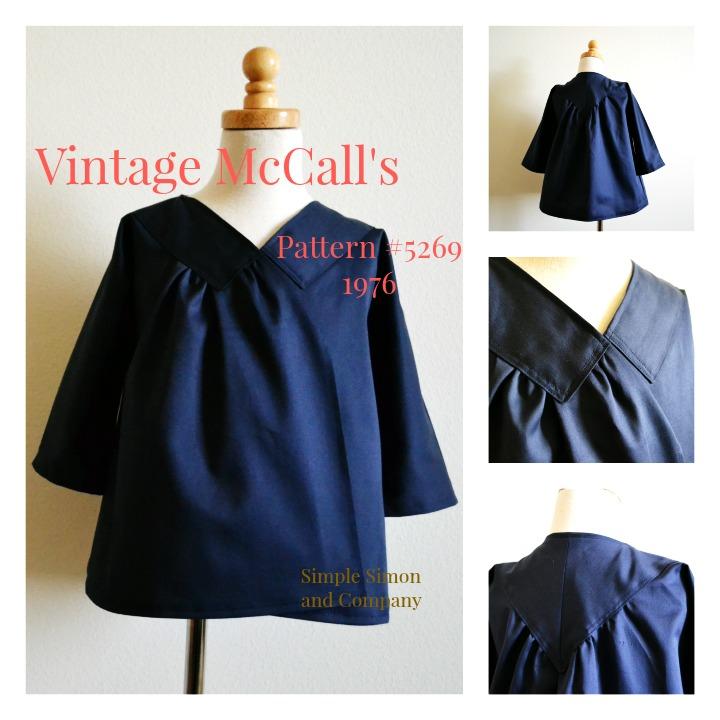 Vintage McCalls 5269 Collage