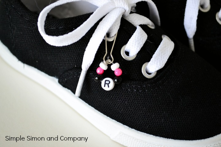 Keds Decorations Black and pink