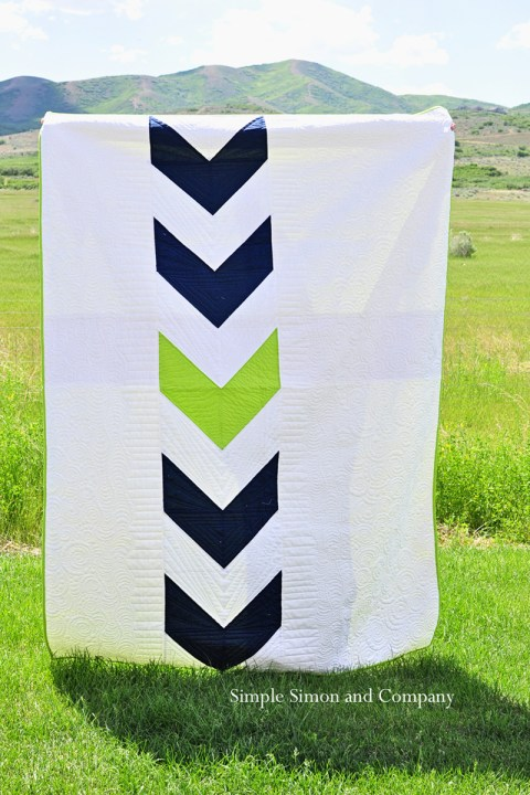 Real Arrow Quilt