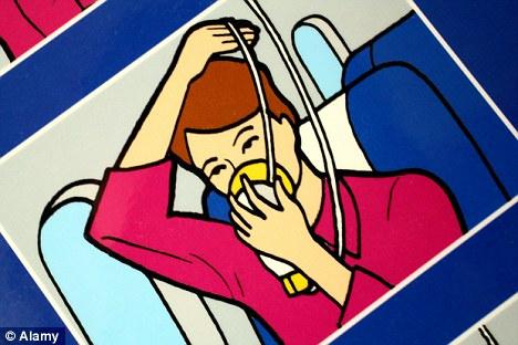 oxygen mask cartoon