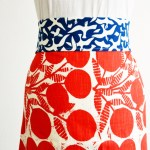 Make a half-apron in 3 easy steps.