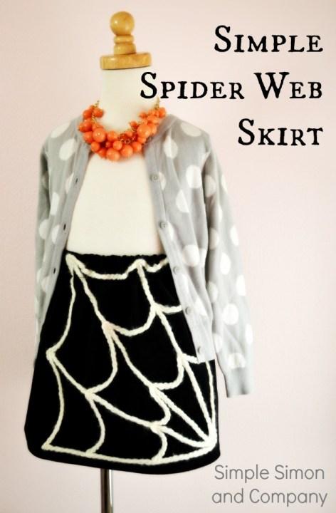 Spider Web Skirt Tutorial