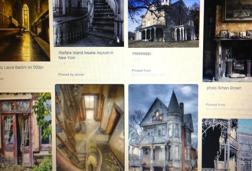 Forgotten Places Pinterest Board 2