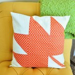 Modern Maple Fall Pillow Tutorial