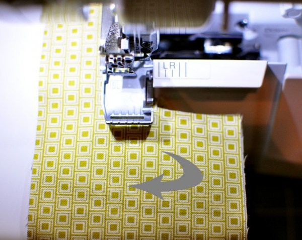 Turning corners with your serger