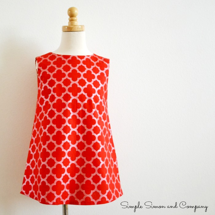 Quatrefoil Shift Dress